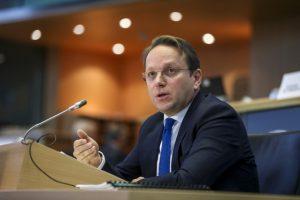 Оливер Верхели, фото ЕУ